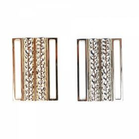 Catarama din Metal, 40 mm (100 bucati/pachet)Cod: 0321-6053-40MM Catarame Metalice, lungime 5.4 cm, Argintiu (10 bucati/pachet)Cod: ME0020