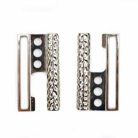 Catarame Metalice, lungime 8 cm (12 perechi/punga)Cod: N12536 Catarame Metalice, lungime 5.4 cm, Argintiu (10 bucati/pachet)Cod: ME0020