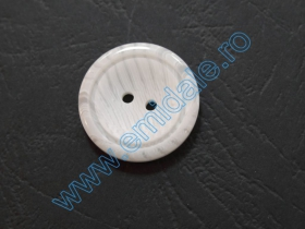 Nasture Plastic cu Picior 0311-0681/24 (100 bucati/punga) Nasturi cu Doua Gauri 0313-1284/32 (100 buc/punga)