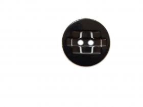 Nasturi cu Doua Gauri 3809/48 (50 buc/punga) Nasturi Plastic cu Doua Gauri 0312-0111/48 (100 bucati / punga) Culoare: Negru