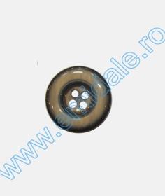 Nasturi Plastic cu Patru Gauri, marime 24L (100 bucati/punga) Cod: XH154/24 Nasturi cu Patru 0313-1628/44 (100 buc/punga)