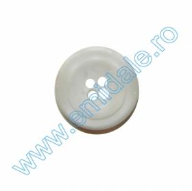 Nasturi Plastic cu Doua Gauri 0313-1283/40 (100 bucati/pachet) Nasturi cu Patru Gauri 0313-1629/28 (100 buc/punga) Culoare: Alb