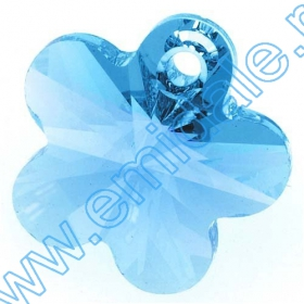 Swarovski Elements - 6041-MM38 (6 buc/pachet) Culoare: Crystal Satin Swarovski Elements - 6744 (144 bucati/pachet) Culoare: Aquamarine