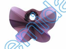 Swarovski Elements - 6010-MM17X8.5 (36 bucpachet) Culoare: Erinite Swarovski Elements - 6754 (72 bucati/pachet) Culoare: Amethyst