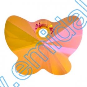 Swarovski Elements - 6656-MM27  (30 buc/pachet) Culoare: Peridot Swarovski Elements - 6754 (72 bucati/pachet) Culoare: Crystal Astral Pink