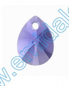 Swarovski Elements - 6670-MM50 (6 buc/pachet) Culoare: Crystal Silver Shade Swarovski 6128 (144 buc/pachet) Culoare: Tanzanite