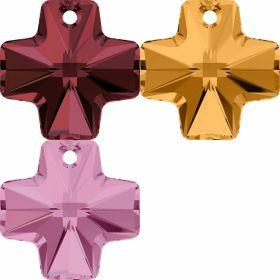 Cristale de Lipit Swarovski, Marimea: 14 mm, Culoare: Crystal (1 bucata)Cod: 2808 Pandantiv Swarovski, 20 mm, Diferite Culori (1 bucata)Cod: 6866