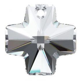 Cristale de Lipit Swarovski, Marimea: 14 mm, Culoare: Crystal (1 bucata)Cod: 2808 Pandantiv Swarovski, 20 mm, Culori: Crystal (1 bucata)Cod: 6866