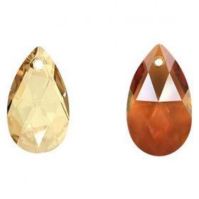 Cristale de Lipit Swarovski, Marimea: 14 mm, Culoare: Crystal (1 bucata)Cod: 2808 Pandantiv Swarovski, 16 mm, Diferite Culori (1 bucata)Cod: 6106