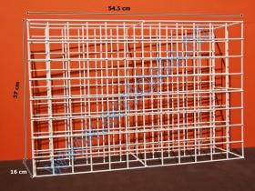 Stand Metalic Tub Nasturi + 96 Tuburi Plastic Stand Metalic pentru Tuburi Plastic Nasturi (fara tuburi)
