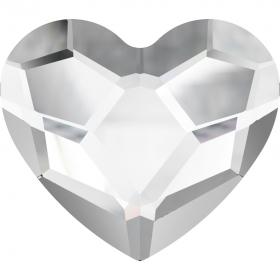 Cristale de Lipit (HotFix) Cristale de Lipit 2808, Marimea: 14 mm, Culoare: Crystal (96 buc/pachet)