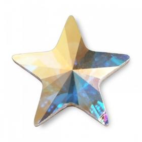 Cristale de Lipit (HotFix) Cristale de Lipit 2816, Marime: 5 mm, Culoare: Crystal-AB (720 buc/pachet)
