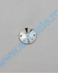 Cristale de Cusut 3200, Marime: 12mm, Culoare: Crystal (72 buc/pachet)  Sewing Crystals 3200/G, Size: 16mm, Color: Crystal (72 pcs/pack)