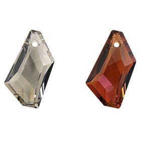 Margele Swarovski, 18 mm, Culori: Crystal Golden Shadow (1 bucata)Cod: 5041-MM18 Pandantiv Swarovski, 24 mm, Diferite Culori (1 bucata)Cod: 6670-MM24