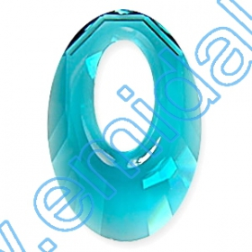 Swarovski Elements - 6621-MM18  (72 buc/pachet) Culoare: Crystal Vitrail Medium Swarovski Elements - 6040-MM20 (20 bucati/pachet) Culoare: Indicolite