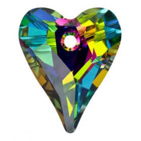 Nasturi Swarovski, 32 mm, Culoare: Crystal (1 bucata)Cod: 3024 Pandantiv Swarovski, 17 mm, Culori: Vitrail Medium (1 bucata)Cod: 6240-MM17
