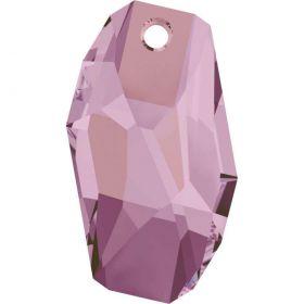 Oferta la 7 Lei + TVA Pandantiv Swarovski, 18 mm, Culori: Crystal Liliac Shadow (1 bucata)Cod: 6673-MM18