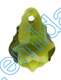 Swarovski Elements - 6000-MM15x7.5 (144 buc/pachet) Culoare: Sapphire Swarovski Elements - 6090-MM22X15  (48 bucati/pachet) Culoare: Olivine