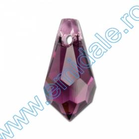 Swarovski Elements - 6621-MM18  (72 buc/pachet) Culoare: Crystal Vitrail Medium Swarovski Elements - 6000-MM13x6.5 (288 buc/pachet) Culoare: Amethyst