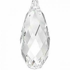 Cristale de Cusut Swarovski, 12.5x13.6 mm, Culoare: Crystal (1 bucata)Cod:  3708 Pandantiv Swarovski, 13x6.5 mm, Culoare: Crystal (1 bucata)Cod: 6010