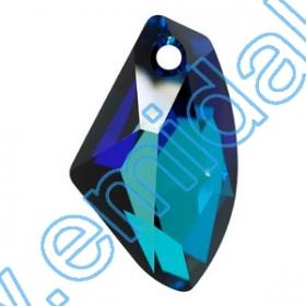 Swarovski Elements - 6090-MM22X15  (48 bucati/pachet) Culoare: Golden Shadow Swarovski Elements - 6656-MM19  (48 buc/pachet) Culoare: Crystal Bermuda Blue