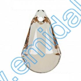 Swarovski Elements - 6010-MM17X8.5 (36 bucpachet) Culoare: Erinite Swarovski Elements - 6026-MM20  (48 buc/pachet) Culoare: Light Silk