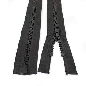 Fermoare Injectate, Detasabile, spira 5mm, lungime 85 cm (100 bucati/pachet) Culoare: Negru Fermoare Injectate, Detasabile, spira 5mm, lungime 85 cm (100 bucati/pachet) Culoare: Negru