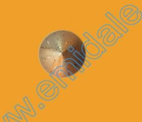 Nasturi cu Picior 0315-0291/12 (200 bucati/punga) Culori: Aurii si Argintii Nasturi cu Picior S636, Marimea 24 (100 buc/pachet)