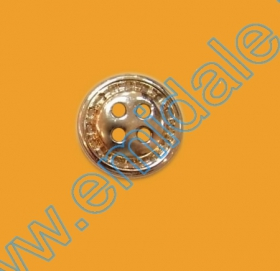 Nasturi cu Patru Gauri 0313-1393/36 (100 buc/punga) Culoare: Alb Nasturi cu Patru Gauri 601/16 (100 buc/punga) Culoare: Auriu
