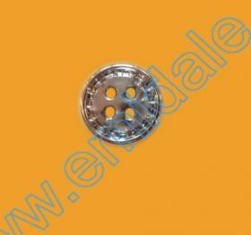 Nasturi AKH3232/40 (144 buc/punga) Nasturi cu Patru Gauri 601/16 (100 buc/punga) Culoare: Argintiu