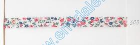 Banda Decorativa, Banda Ripsata Bias Cotton ( 100 metri/rola ) Culoare 303