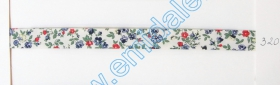 Banda Decorativa, Banda Ripsata Bias Cotton (100 metri/rola) Culoare 320