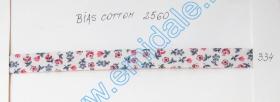 Banda Decorativa, Banda Ripsata Bias Cotton (100 metri/rola) Culoare 334