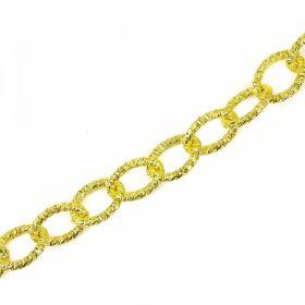 Lant Ornamental 10 mm  (10 m/rola) Culoare: Negru Lant Ornamental (10 m/rola) Culoare: Auriu