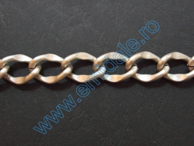 Lant Ornamental (10 m/rola) Culoare: Auriu  Metal Chain (10 m/roll) Color: Silver