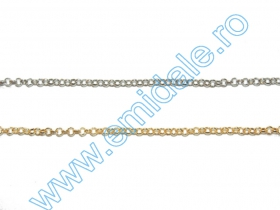 Lant Ornamental - 12.7 mm (20 m/rola) Cod: 0403-2033 Lant Ornamental (50 m/rola) Cod: BL2.5