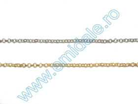 Lant Ornamental 2.8 mm  (100 m/rola) Cod: 0403-2004  Lant Ornamental (50 m/rola) Cod: BL3.8