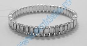Bijuterii Swarovski Bratara Elastica 131E0207-CRY, Culoare: Crystal
