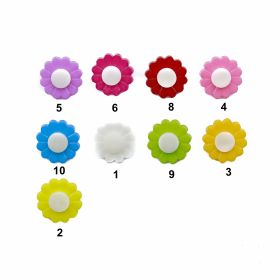 Nasturi Plastic cu Picior, Marimi: 44L (50 bucati/pachet)Cod: A445/44 Nasturi cu Picior ZA02, Marimea 24 (200 buc/pachet)