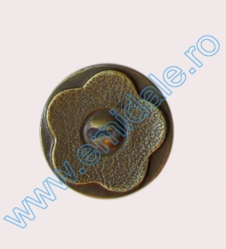 Nasturi cu Patru Gauri 0313-1393/48 (100 buc/punga) Culoare: Negru Nasturi 2CA-A301/48 (100 bucati/pachet)