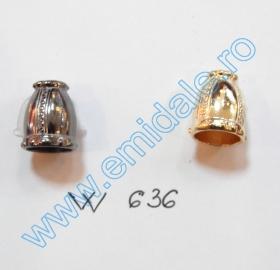 Opritori 0305-3129-BRASS (200 bucati/punga) Capete de Snur W636 (100 bucati/punga)