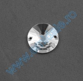 Cristale de Cusut 3200, Marime: 12mm, Culoare: Crystal (72 buc/pachet)  Sewing Crystals 3200, Size: 14mm, Color: Crystal (72 pcs/pack)