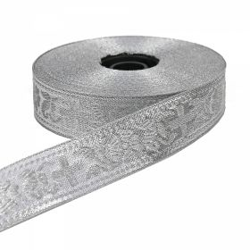 Pasmanterie, latime 38 mm, Argintie (16.4 m/rola) Pasmanterie, latime 23 mm, Argintie (16.4 m/rola)