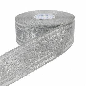 Pasmanterie, latime 40 mm, Aurie (16.4 m/rola) Pasmanterie, latime 38 mm, Argintie (16.4 m/rola)