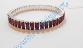 Bratara Elastica 131E0207-CRY, Culoare: Crystal Bratara Elastica 131E0207-COLOR, Culoare: Siam
