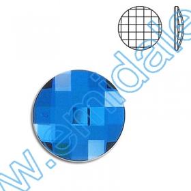 Nasturi 3015, Marimea: 18mm, Culoare: Crystal-Alb (24 buc/pachet)  Cristale fara Adeziv 2035, Marimea: 20 mm, Culoare: Crystal Bermuda Blue (40 buc/pachet)