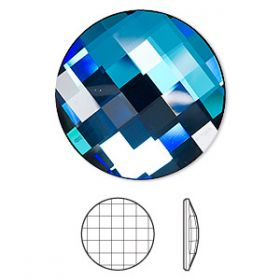 Oferta la 7 Lei + TVA Cristale Swarovski fara Adeziv, 30 mm, Diferite Culori (1 buc/pachet)Cod: 2035