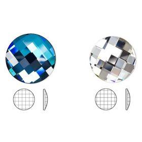 Pandantiv Swarovski, 30 mm, Culoare: Indicolite (1 bucata)Cod: 6040-MM30 Cristale Swarovski fara Adeziv, 40 mm, Diferite Culori (1 buc/pachet)Cod: 2035