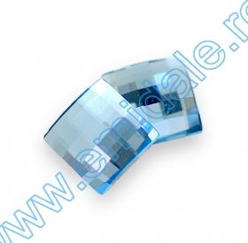 Cristale fara Adeziv 2035, Marimea: 20 mm, Culoare: Crystal Bermuda Blue (40 buc/pachet)  Cristale de Lipit 2493, Marimea: 8 mm, Culoare: Aquamarine (216 buc/pachet)