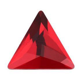 Cristale de Cusut Swarovski, 14mm, Culoare: Crystal (1 bucata)Cod: 3200 Cristale de Lipit, 12.5 mm, Culoare: Light Siam (1 bucata)Cod: 2720